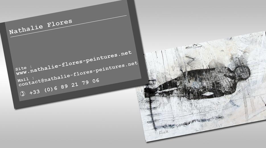 Site Internet Nathalie Flores Peintures Cartes De Visite Pour Artiste Peintre A Aix En Provence